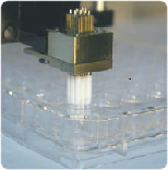 NextPin Microarray Print Head with Pins